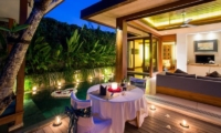 Maca Villas Outdoor Dining | Seminyak, Bali