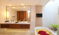 Maca Villas Bathroom| Seminyak, Bali