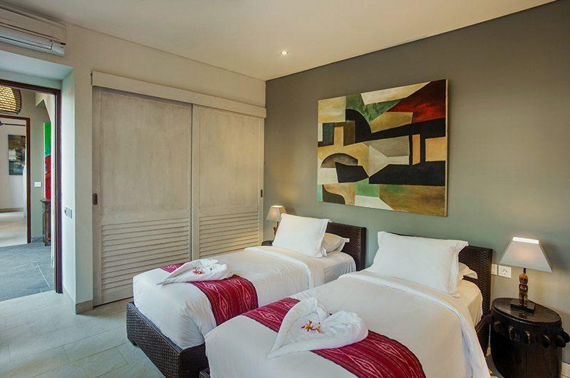 Villa Abakoi Twin Bedroom | Seminyak, Bali