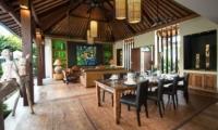 Villa Abakoi Living And Dining Area   Seminyak, Bali