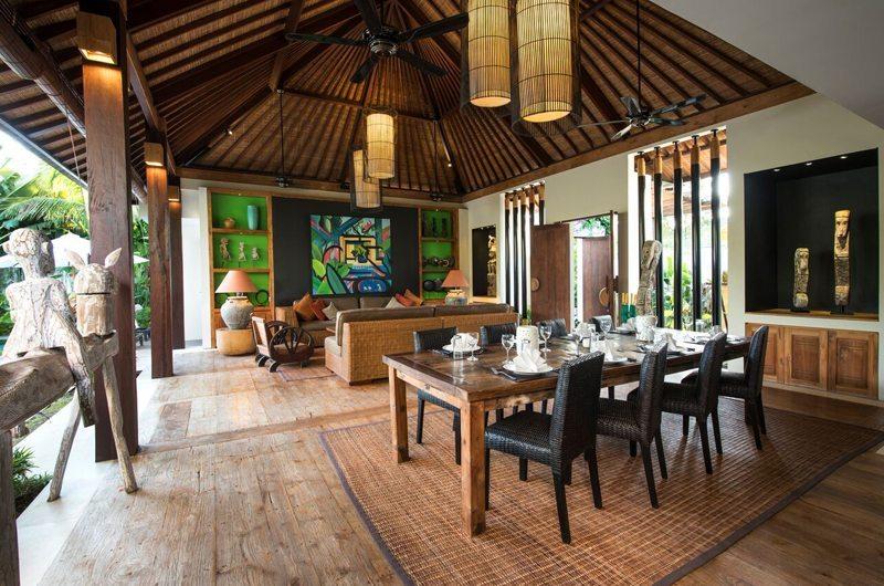 Villa Abakoi Living And Dining Area | Seminyak, Bali