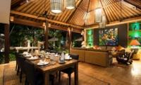 Villa Abakoi Living And Dining Room   Seminyak, Bali