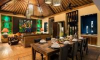 Villa Abakoi Dining Room   Seminyak, Bali