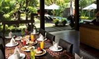 Villa Abakoi Dining Area   Seminyak, Bali