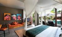 Villa Abakoi Master Bedroom   Seminyak, Bali