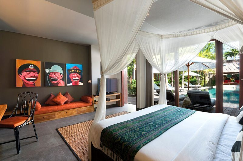 Villa Abakoi Master Bedroom | Seminyak, Bali