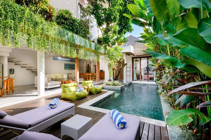 Villa Ace Swimming Pool | Seminyak, Bali