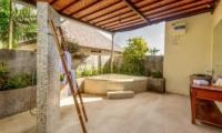 Villa Ace Outdoor Bathroom | Seminyak, Bali