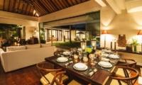 Villa Alabali Dining Area | Seminyak, Bali
