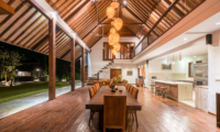 Villa Tirtadari Dining Area with Garden View | Umalas, Bali