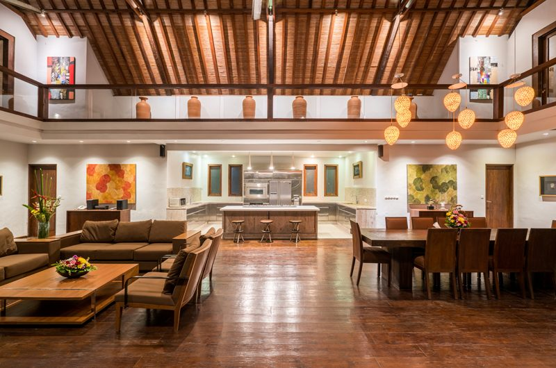 Villa Tirtadari Living and Dining Area | Umalas, Bali