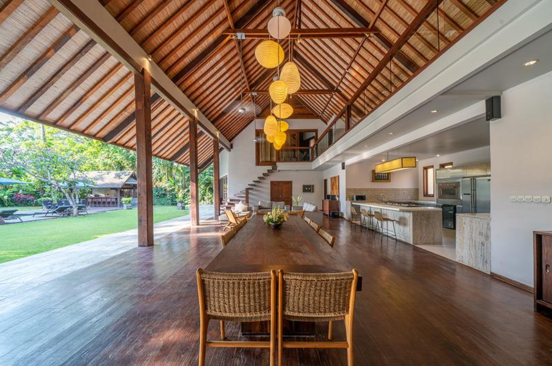 Villa Tirtadari Open Plan Dining Table | Umalas, Bali