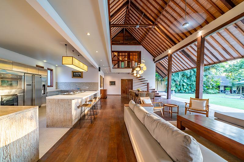 Villa Tirtadari Open Plan Living Room | Umalas, Bali