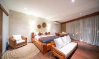 Villa Tirtadari Guest Bedroom with Seating | Umalas, Bali