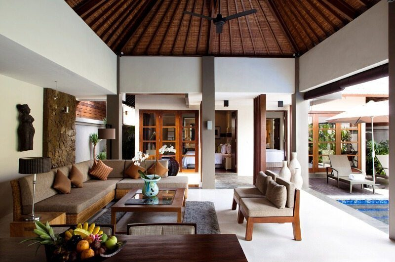 Akara Villas Living Area | Petitenget, Bali
