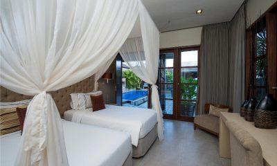 Akara Villas Twin Bedroom | Petitenget, Bali