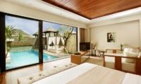 Berry Amour Romantic Villas Desire Villa Bedroom View | Batubelig, Bali