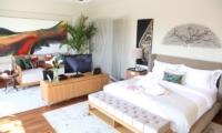 Berry Amour Romantic Villas Desire Villa Bedroom | Batubelig, Bali