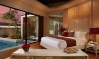 Berry Amour Romantic Villas Temptation Villa Guest Bedroom | Batubelig, Bali