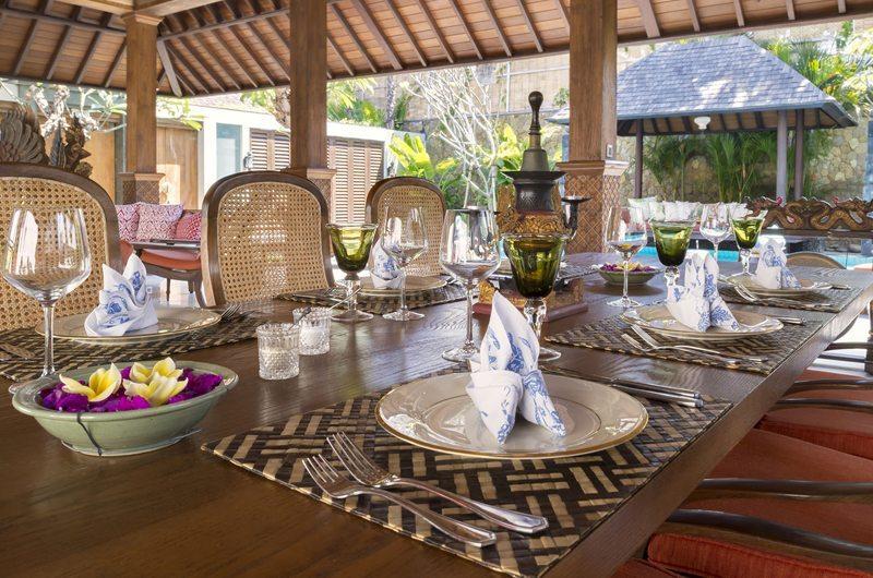 Des Indes Villas Dining Pavilion   Seminyak, Bali