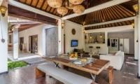 Villa Can Barca Open Plan Dining Pavilion | Petitenget, Bali