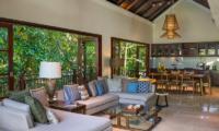 Villa Indah Ungasan Indoor Living Area | Uluwatu, Bali
