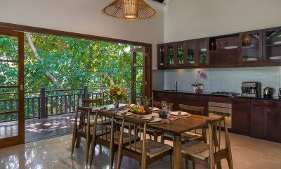 Villa Indah Ungasan Kitchen and Dining Area | Uluwatu, Bali