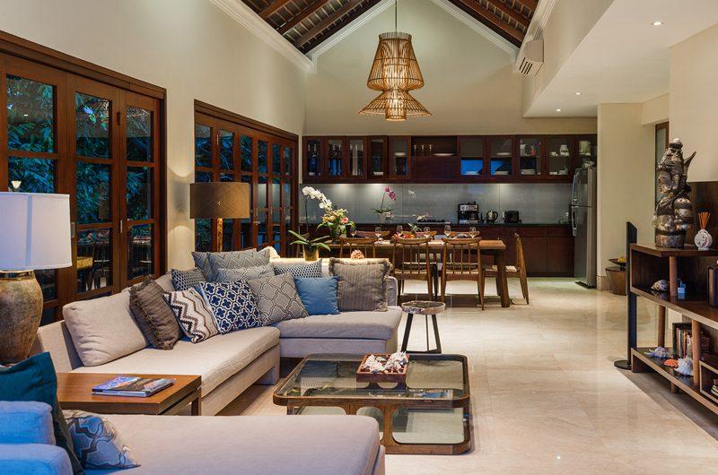 Villa Indah Ungasan Living and Dining Area | Uluwatu, Bali
