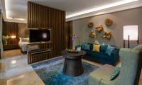 Villa Indah Ungasan Master Bathroom TV Room | Uluwatu, Bali