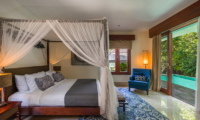 Villa Indah Ungasan Bedroom with Pool View | Uluwatu, Bali