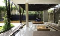 Ziva A Residence Open Living Room | Seminyak, Bali