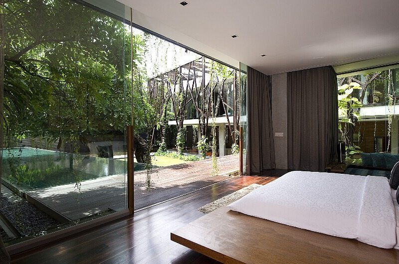 Ziva A Residence Bedroom and Outdoor | Seminyak, Bali