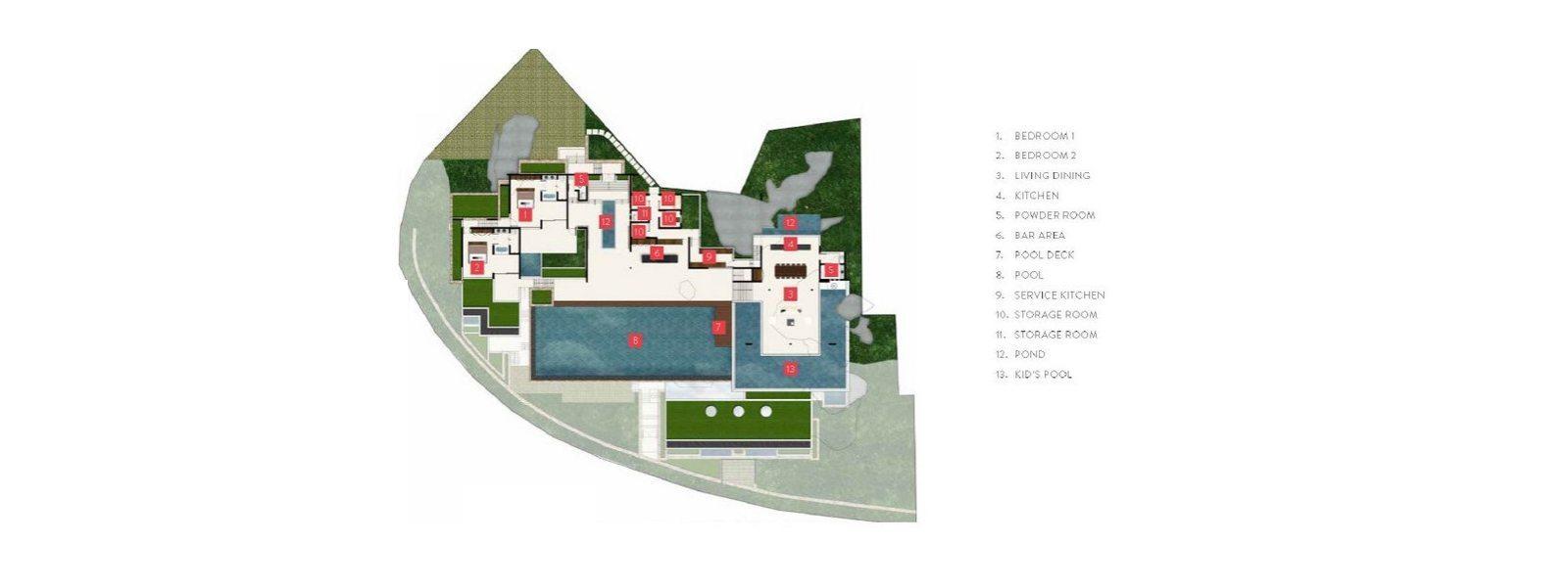 Samujana 12 Floorplan | Choeng Mon, Koh Samui