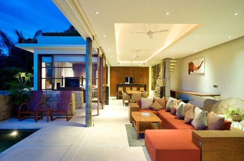 Samujana 17 Open Plan Living Area | Koh Samui, Thailand