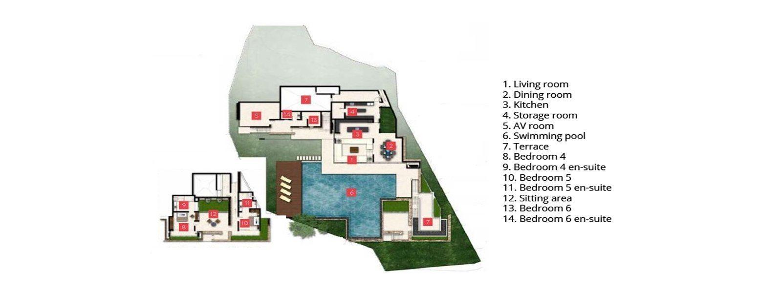 Samujana 20 Floorplan | Koh Samui, Thailand