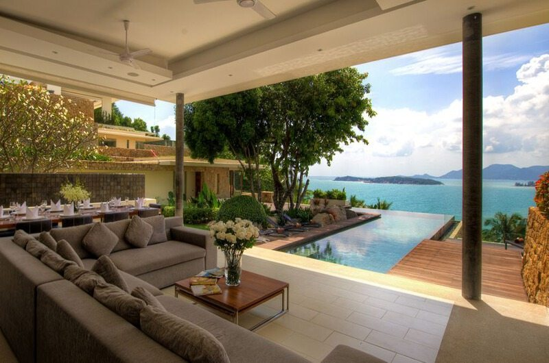 Samujana 6 Living Area | Koh Samui, Thailand