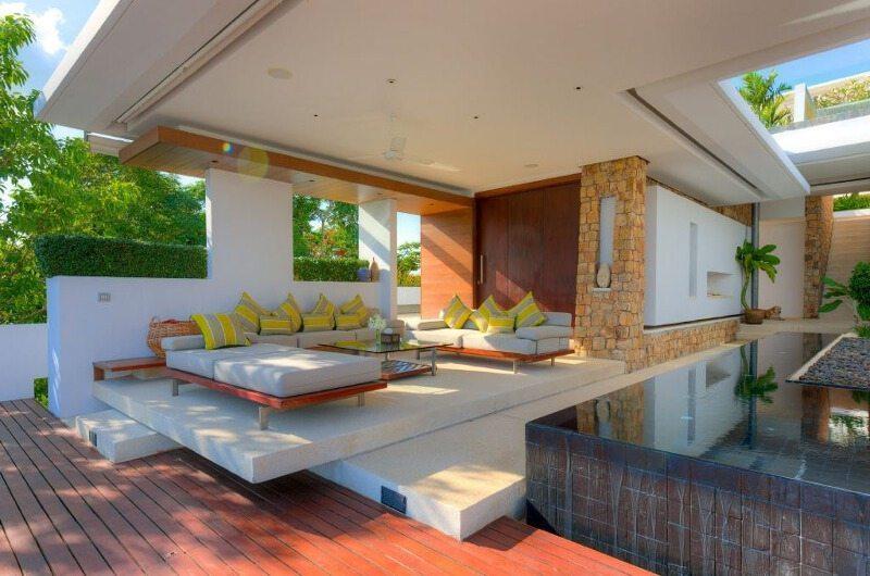 Samujana 7 Living Area | Koh Samui, Thailand