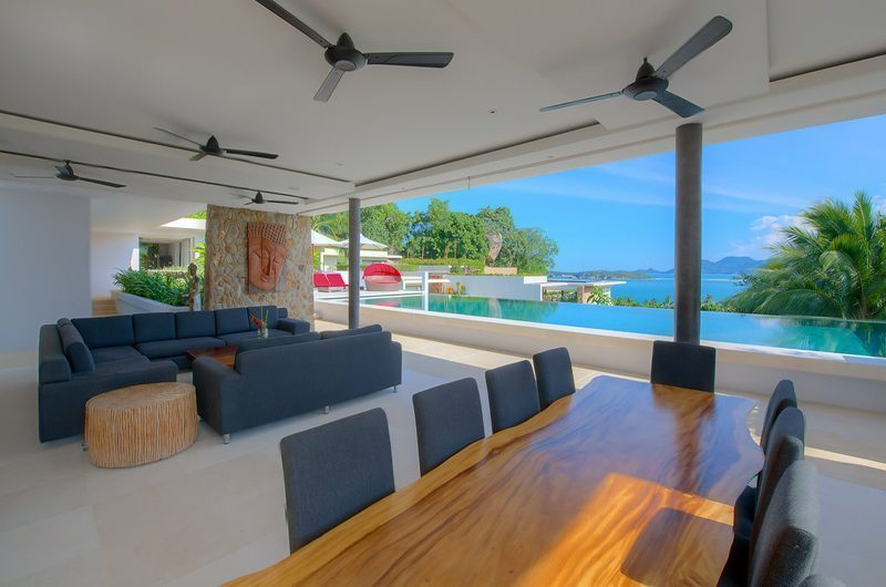 Samujana 9 Open Plan Living And Dining Area | Koh Samui, Thailand