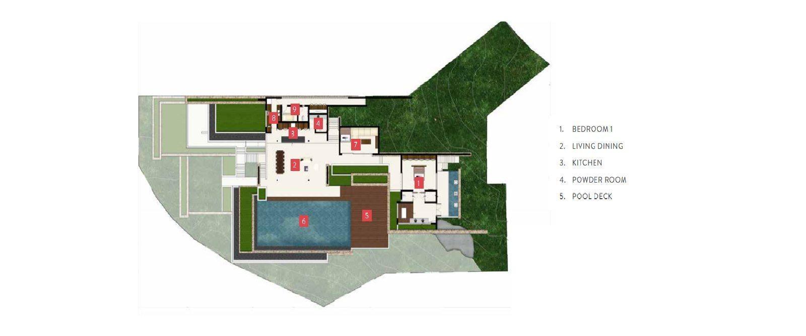 Samujana 9 Floorplan | Choeng Mon, Koh Samui