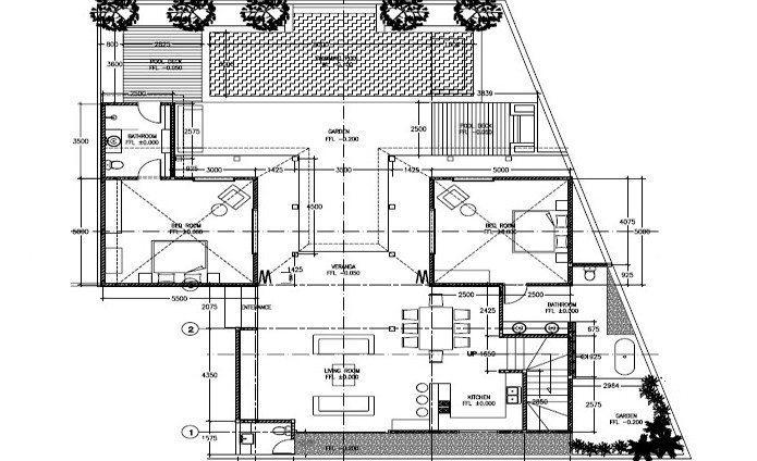 Casa Cinta 2 Floorplan | Batubelig, Bali