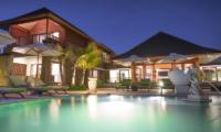 Villa Bayu Gita Bayu Gita Beach Front Night View | Sanur, Bali
