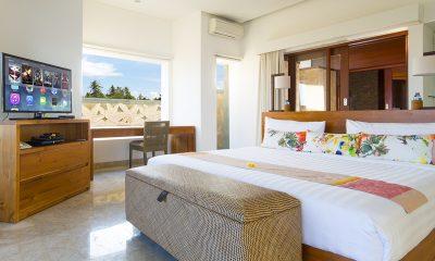 Villa Bayu Gita Bayu Gita Beach Front Bedroom with TV | Sanur, Bali