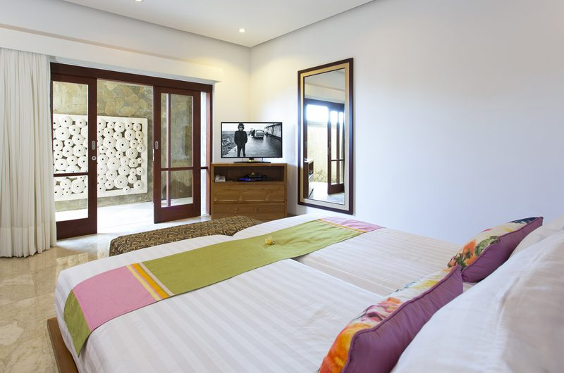 Villa Bayu Gita Bayu Gita Beach Front Bedroom with Twin Beds | Sanur, Bali