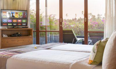 Villa Bayu Gita Bayu Gita Beach Front Bedroom and Balcony | Sanur, Bali