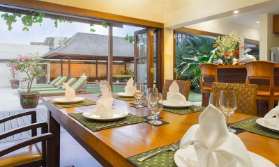 Villa Bayu Gita Bayu Gita Residence Dining Area   Sanur, Bali