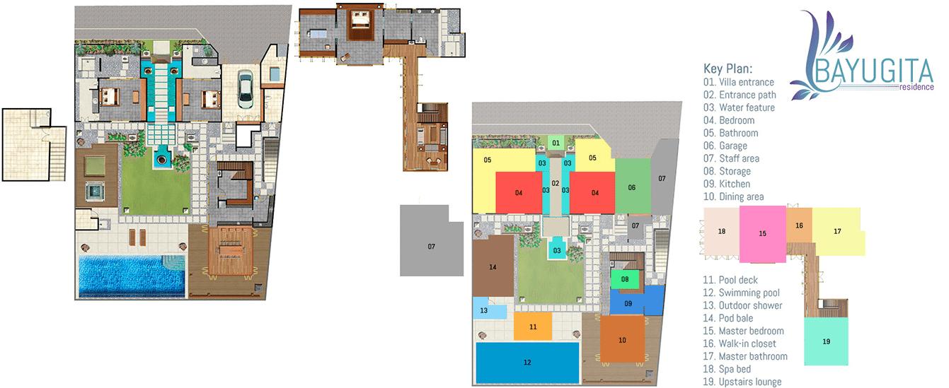 Bayu Gita Residence Floor Plan