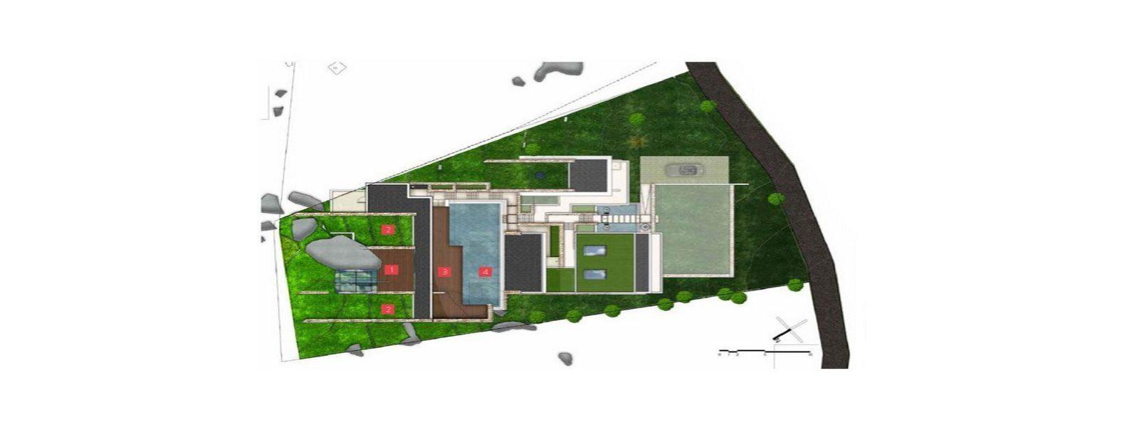Samujana 15 Floorplan | Choeng Mon, Koh Samui