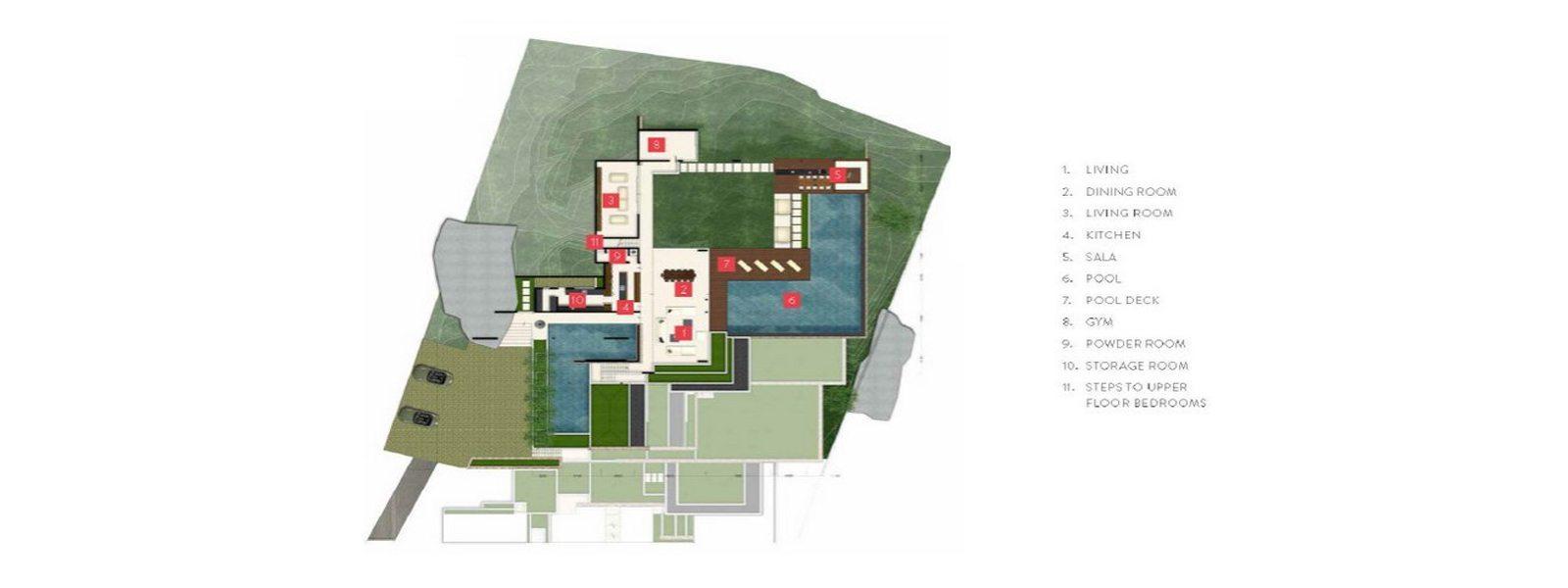 Samujana 1 Floorplan | Choeng Mon, Koh Samui