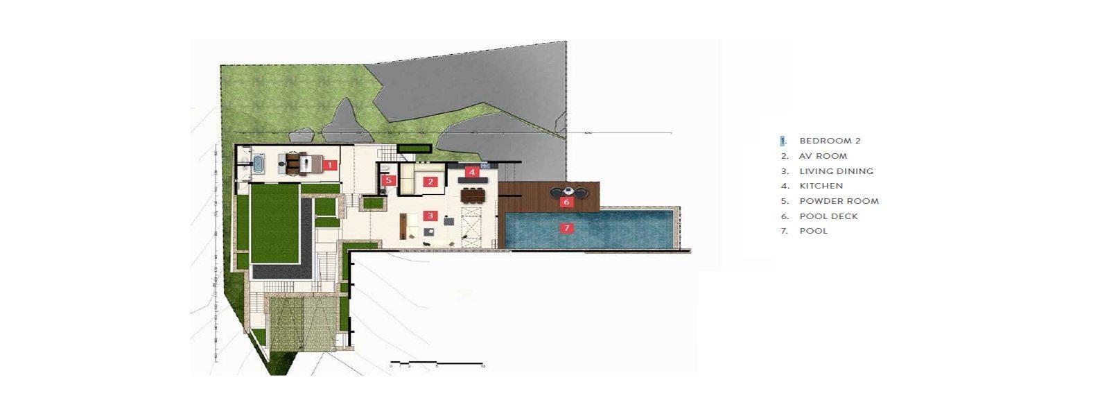 Samujana 11a Floorplan | Choeng Mon, Koh Samui