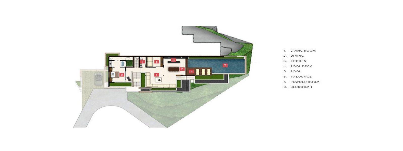 Samujana 11b Floorplan | Choeng Mon, Koh Samui